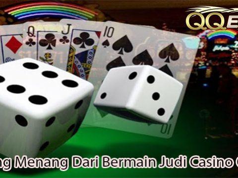 Peluang Menang Dari Bermain Judi Casino Online